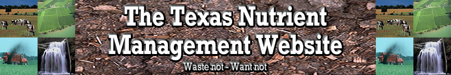 The Texas Nutrient Management Website